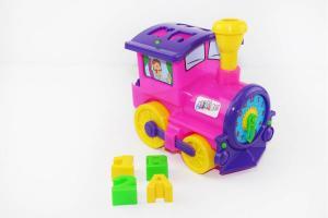 Фото Игрушки для мальчиков, Железная дорога, поезда Поезд - сортер ЯБЛОКОВ