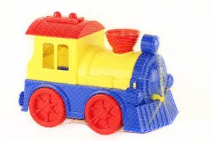 Фото Игрушки для мальчиков, Железная дорога, поезда Поезд в сетке ЮНИКА