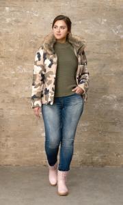 Фото  Куртка женская большого размера
