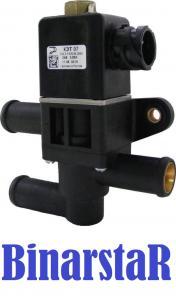Фото 81. Отопление КЭТ 07 01 клапан электромагнитный топливный климат контроля байонетный разъем