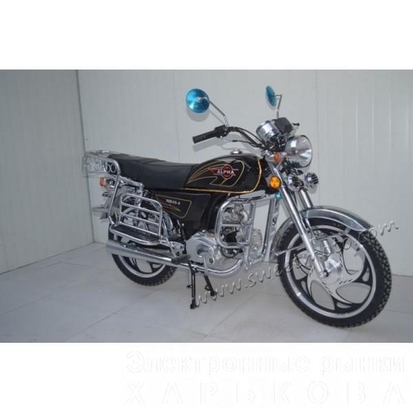 Мопед Alpha 110cc - Мотоциклы, мотороллеры, скутеры, мопеды на рынке Барабашова