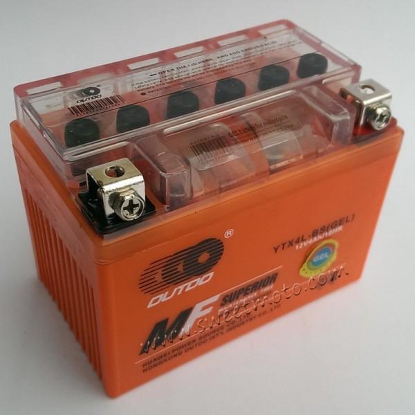 Аккумулятор 4А 12В Outdo