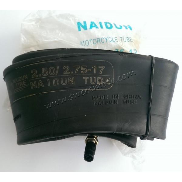 Камера 2,50/2,75-17 Naidun BUTYL (синяя наклейка)