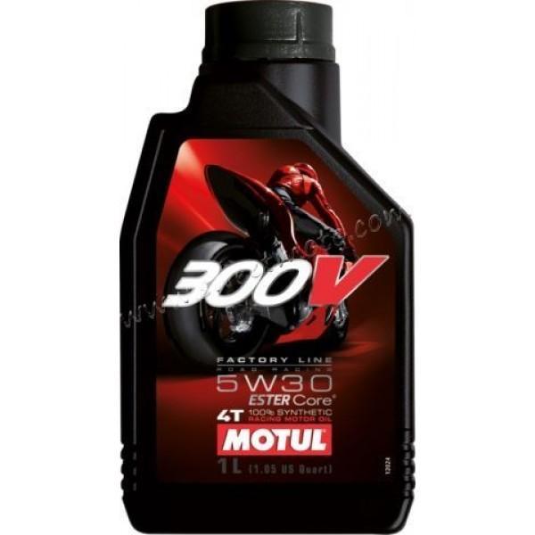 MOTUL 300V 4T  FACTORY LINE ROAD RACING 5W-30, 4л.