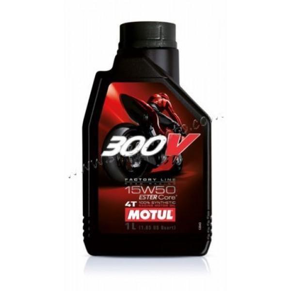MOTUL 300V 4T  FACTORY LINE ROAD RACING 15W-50, 1л.