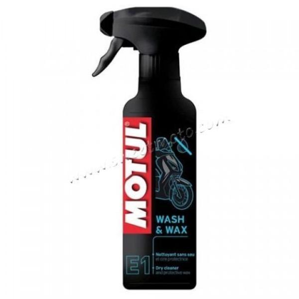 MOTUL E1 Wash & Wax, 400мл.