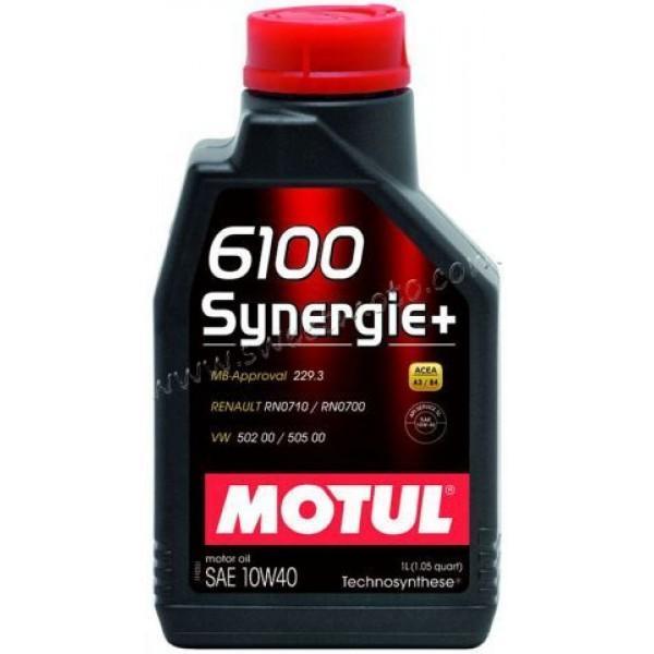 MOTUL 6100 Synergie+ 10W-40, 1л.