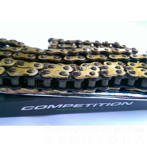 Цепь ходовая 428-98 Gold SFR - Детали ходовой части мототехники на рынке Барабашова