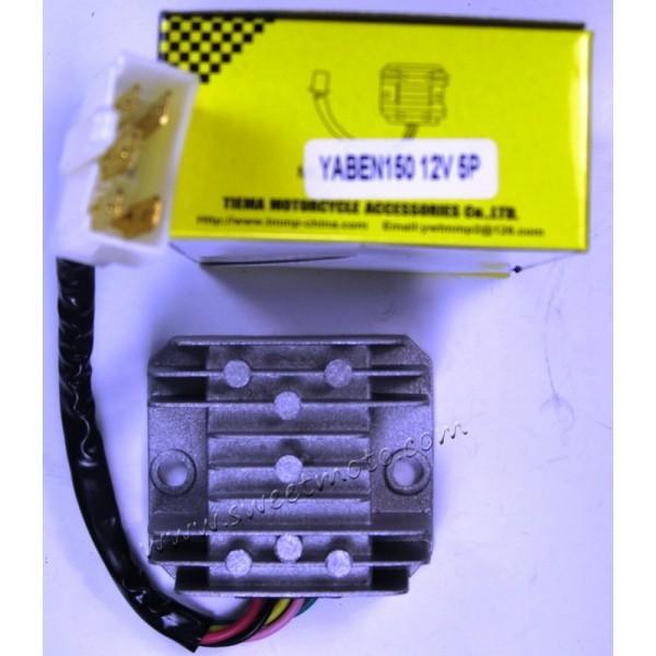 Реле тока скутер 4Т 125сс/150сс 5 выходов