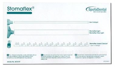 Фото Для стоматологических клиник, Материалы, Оттискные материалы Блокнот для замешивания, Stomaflex (190х110мм)