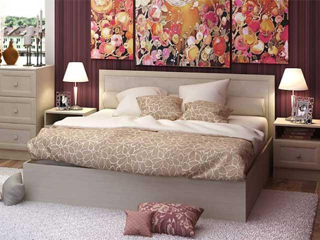 Фото Кровати Кровать Барселона 1,6м (Стендмебель)