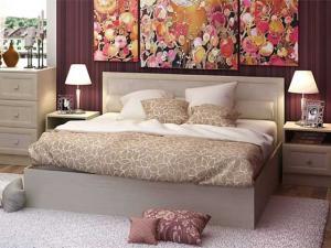 Кровать Барселона 1,4м, 1,6м белфорт (Стендмебель)