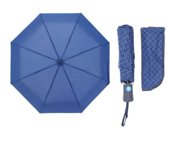 Зонт автоматический, R=55см, цвет синий