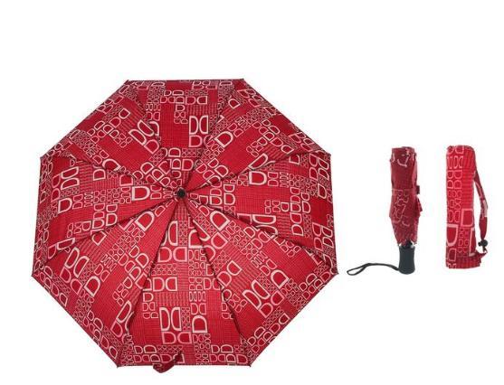 Зонт автоматический, R=50см, цвета МИКС