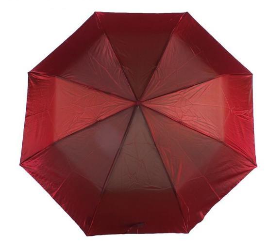 """Зонт полуавтомат """"Хамелеон"""", №2 6341, R=50см, цвет красный"""