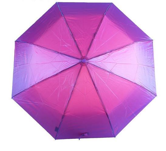"Зонт полуавтомат ""Хамелеон"", №4 6341, R=50см, цвет сиреневый"