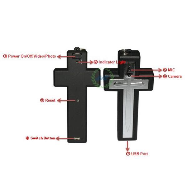 Крестик со встроенной видеокамерой