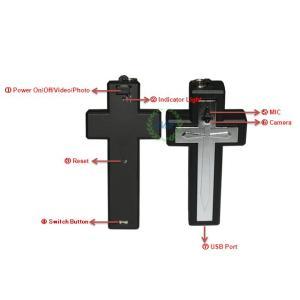 Фото Шпионская мини видеокамера Крестик со встроенной видеокамерой