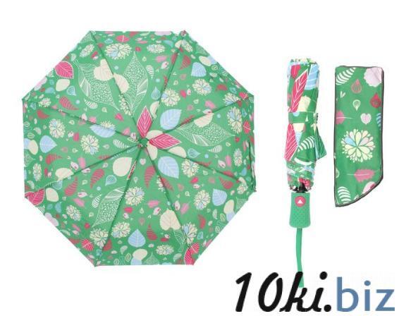 Зонт полуавтомат, R=55см, цвет зелёный купить в Гродно - Женские зонты