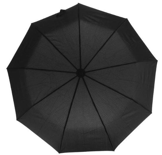 Зонт автоматический, 23176, R=50см, цвет чёрный