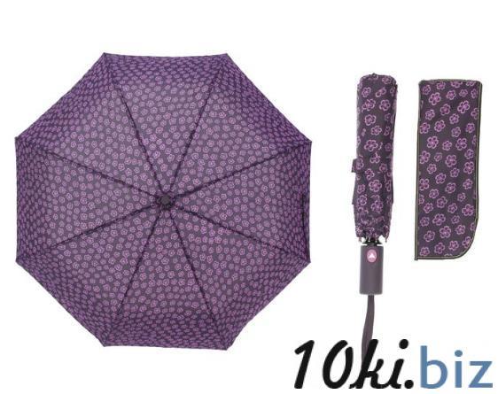Зонт полуавтомат, R=55см, цвет фиолетовый купить в Беларуси - Женские зонты