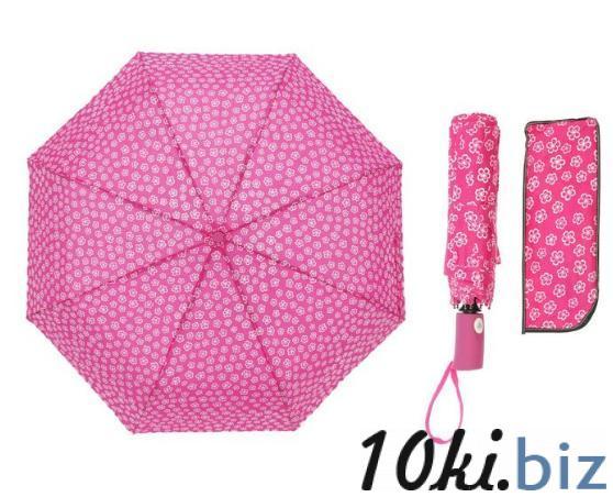 Зонт полуавтомат, R=55см, цвет розовый купить в Беларуси - Женские зонты