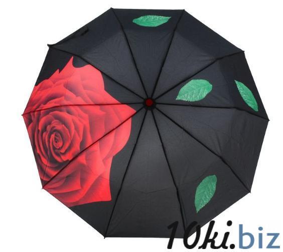 """Зонт полуавтомат """"Роза 1538, R=50см, разноцветный купить в Беларуси - Женские зонты"""