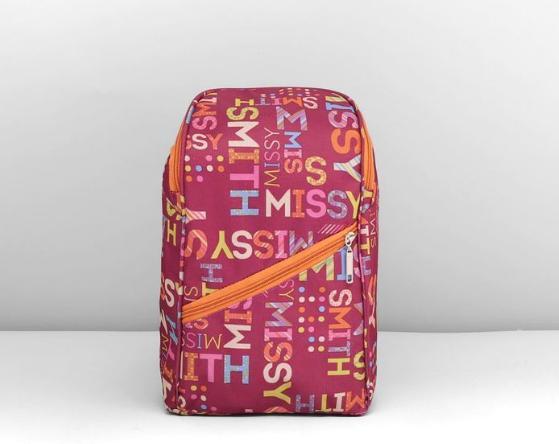 Рюкзак молодёжный на молнии, 1 отдел, наружный карман, цвет розовый