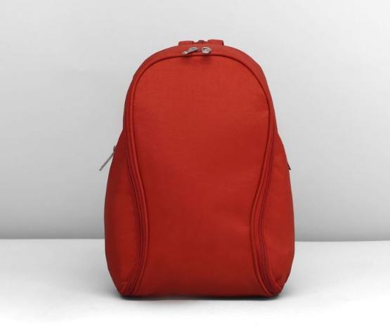 Рюкзак молодёжный на молнии, 1 отдел, 2 наружных кармана, оранжевый