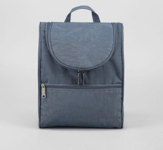 Рюкзак молодежный С126, 22*13*30, 1 отд на молнии, н/карман, темно-серый