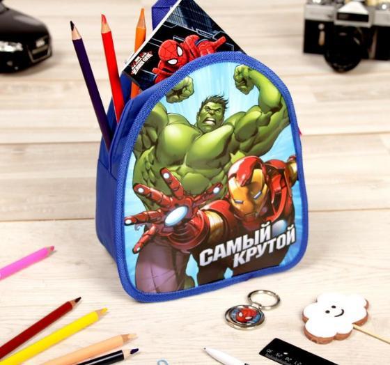 """Детский рюкзак ПВХ """"Самый Крутой"""", Мстители, 21 х 25 см"""
