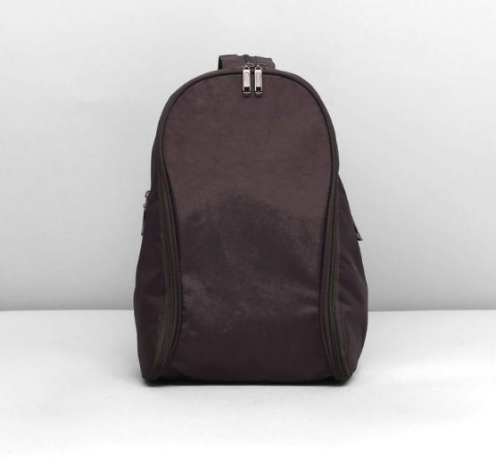 Рюкзак молодёжный на молнии, 1 отдел, 2 наружных кармана, цвет тёмно-зелёный