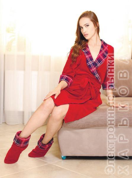 f50fa435288f5 Велюровый халат на запах Night - Халаты женские на рынке Барабашова