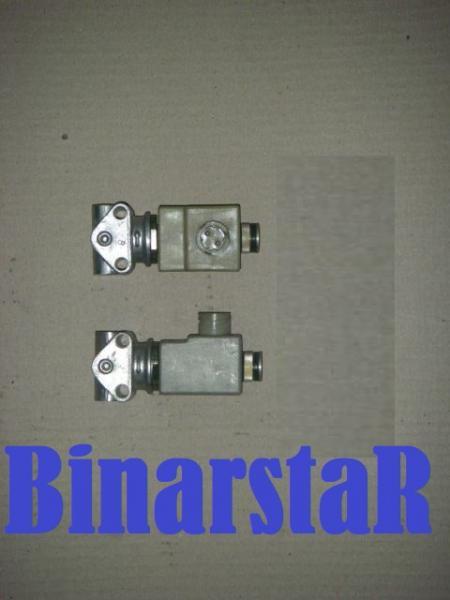 КЭБ-420 клапан электромагнитный (КЭМ 07-15,АДЮИ 453644 005 01, ЭМПК ) блокировки колёс, запора заднего борта байонетный разъем