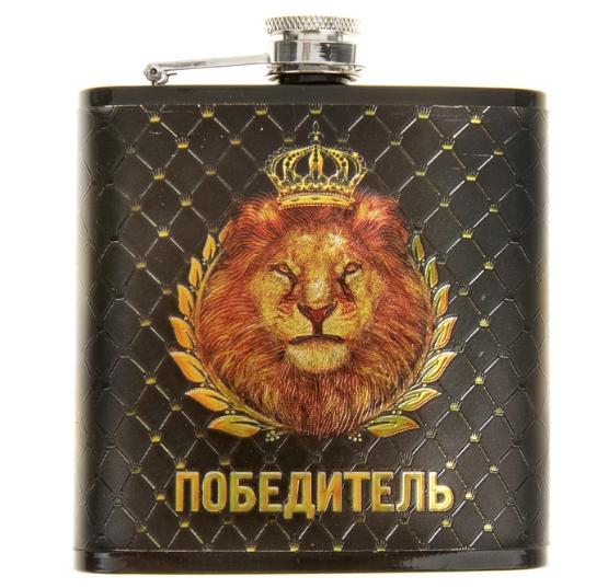 """Фляжка """"Победитель"""" 180 мл"""