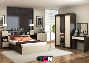 Модульная спальня Бася ЛДСП (Стендмебель)