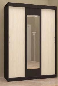 Бася шкаф-купе ШКК 551 1,3м (Стендмебель)