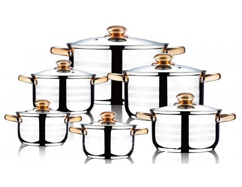 Набор посуды WELLBERG 12 пр. WB-1315