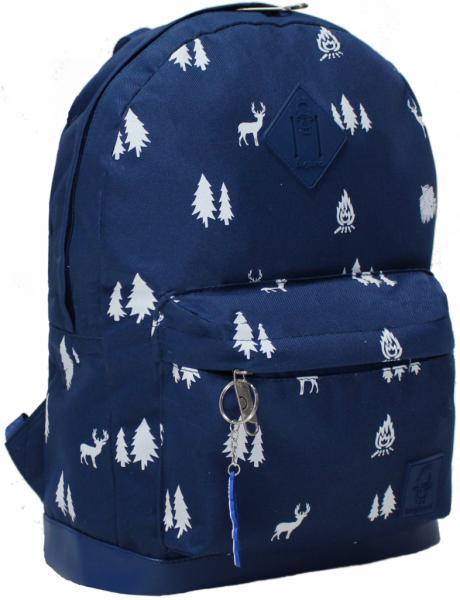 Рюкзак  молодежный с кожзам.