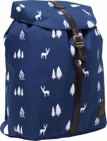 Рюкзак с кожзамом 29х38х12
