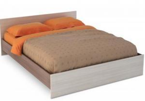 Кровать Бася ЛДСП 1,4м (Стендмебель)