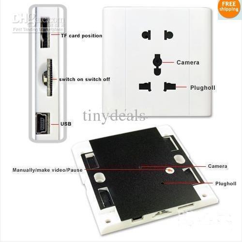 Розетка - Цифровой видеорегистратор с активацией на звук