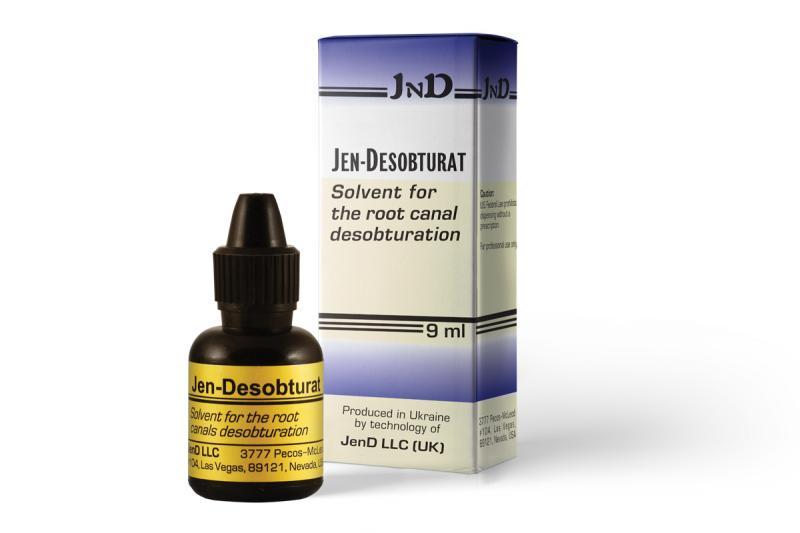 Джен-дезобтурат (Jen-Desobturat) Растворитель для дезобтурации корневых каналов