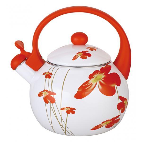 Чайник эмалированный со свистком Maestro 2,5 л.  MR 1318