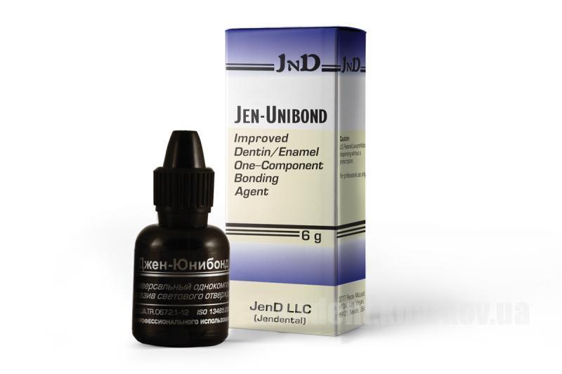 Фото Для стоматологических клиник, Материалы, Бондинговые системы Jen-Unibond (Унибонд Джен) 6г.