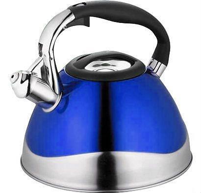 Цветной чайник со свистком MAESTRO  3,0 л.