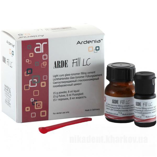 Фото Для стоматологических клиник, Материалы, Цементы Arde Fill LC (Арде Фил ЛЦ - Германия)