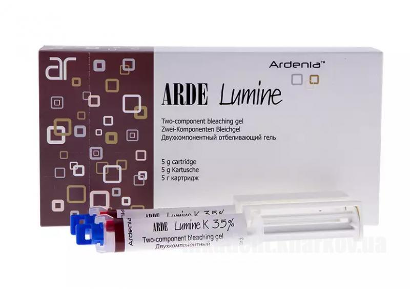 Фото Для стоматологических клиник, Материалы, Системы для отбеливания и полировочные пасты Arde Lumine K 35%