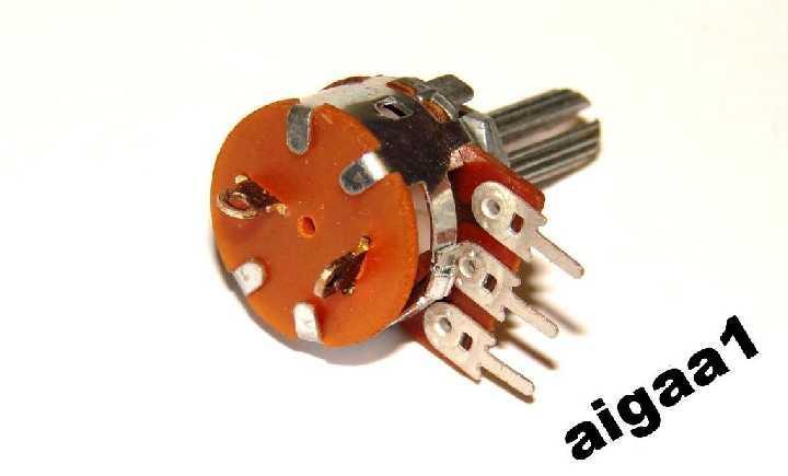 Резистор переменный с выключателем В 50 кОм