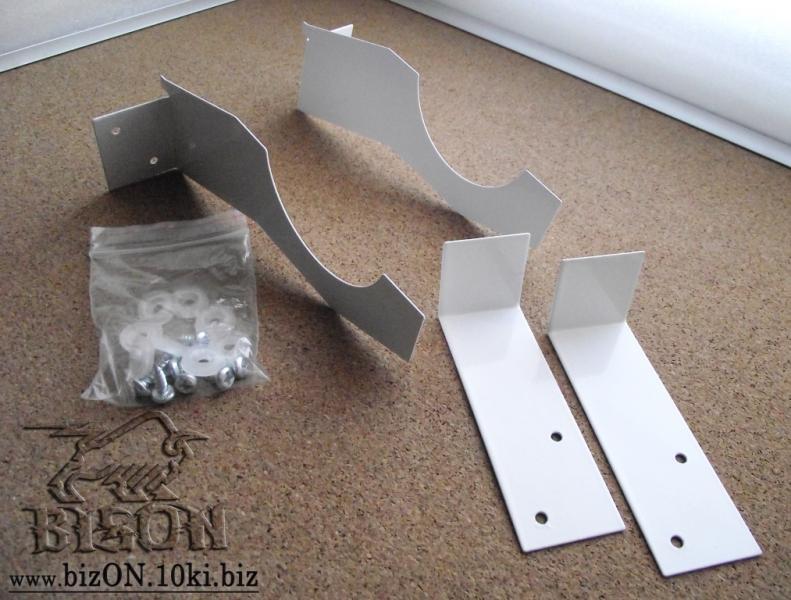 Кронштейн для крепления экранов на чугунные радиаторы (комплект)